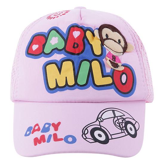 Nón Baby Milo Bảo Ngọc BN40 (Hồng)