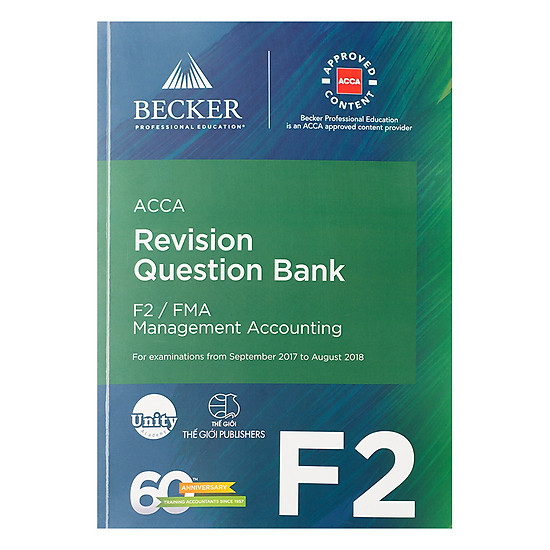 Revision Question Bank  F2 Management Accounting