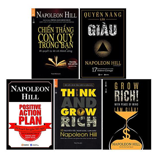 Bộ Làm Giàu Cùng Napoleon Hill (Trọn Bộ 5 Cuốn)