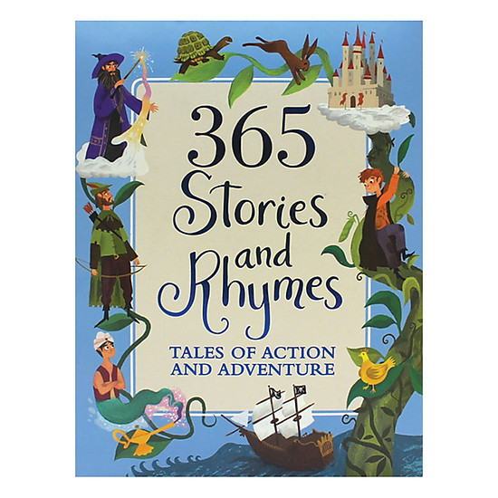 365 Stories And Rhymes (Blue)