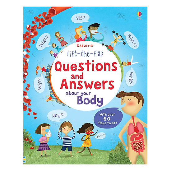 Usborne Lift-The-Flap Questions & Answers About Body