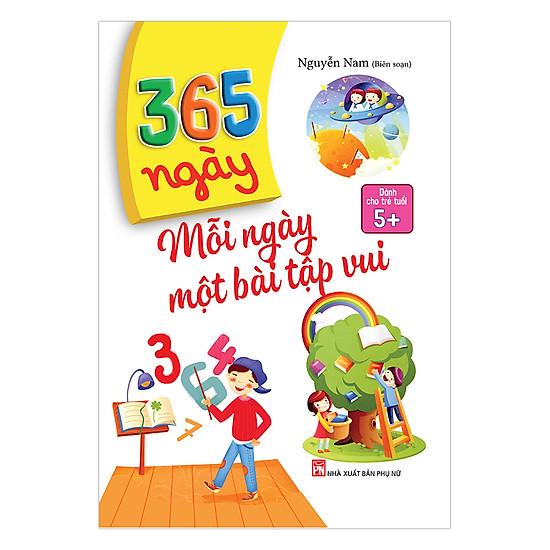 [Download sách] 365 Ngày Mỗi Ngày Một Bài Tập Vui (Dành Cho Trẻ 5+)