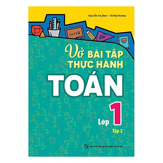 [Download Sách] Vở Bài Tập Thực Hành Toán Lớp 1 (Tập 2)
