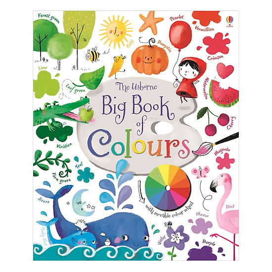 [Download Sách] Big Book Of Colours