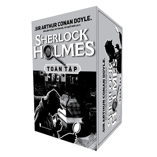 [Download Sách] Combo Sherlock Holmes Toàn Tập (Trọn Bộ 3 Tập) - Hộp Gỗ