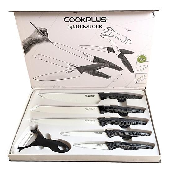 Bộ Dao Nhà Bếp 6 Món Lock&Lock CKK101S01 – Giá tốt   Tiki.vn