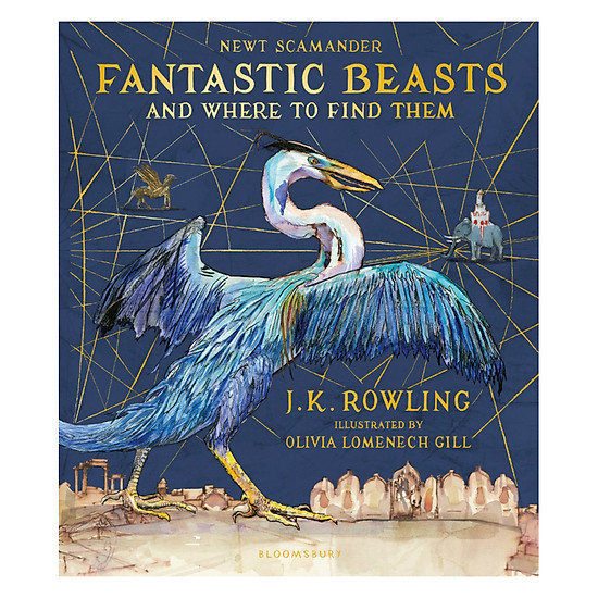 [Download Sách] Fantastic Beasts And Where To Find Them : Illustrated Edition