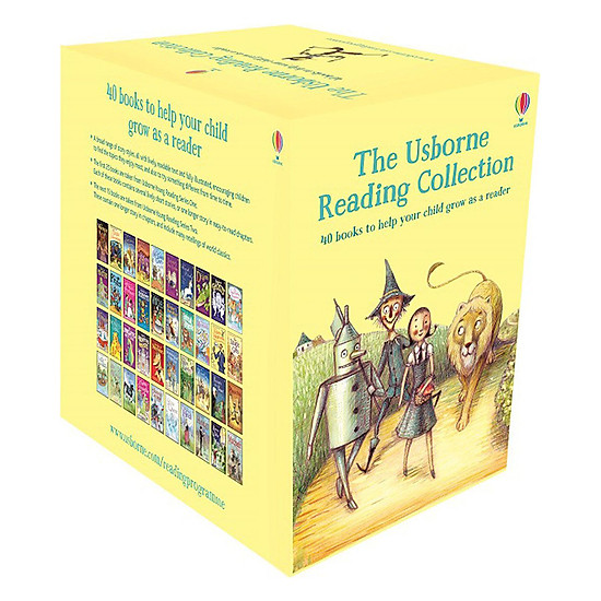 The Usborne Reading Collection - Bộ Vàng 40 cuốn