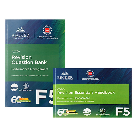 Combo F5  Revision Question Bank Và Revision Essential Handbook