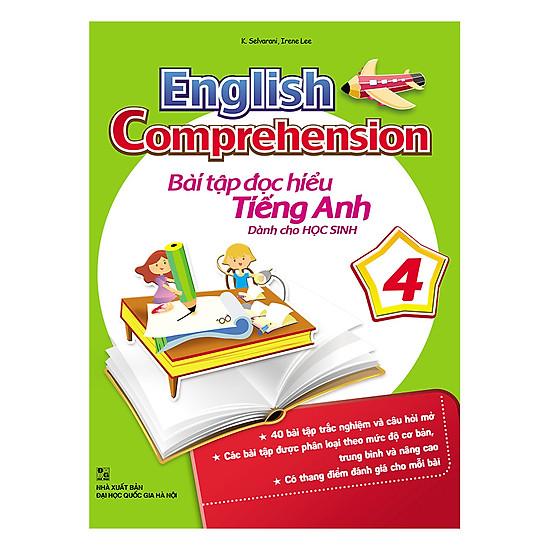 English Comprehension – Bài Tập Đọc Hiểu Tiếng Anh Dành Cho Học Sinh 4