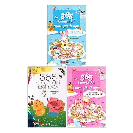 Combo: 365 Chuyện Kể 3 Tập