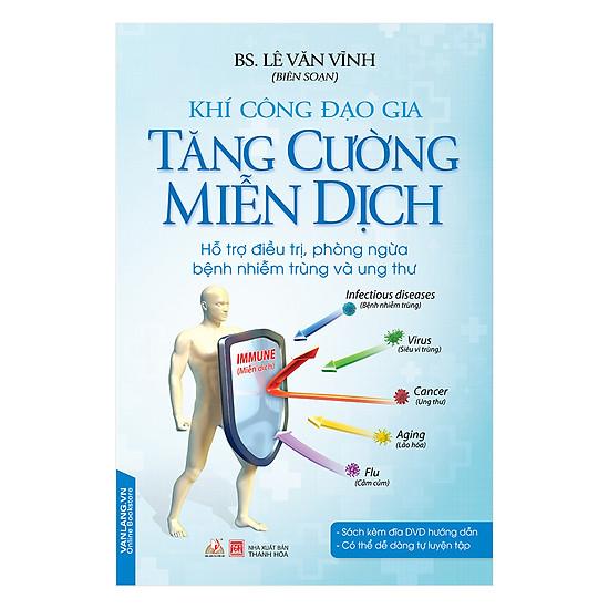 [Download sách] Khí Công Đạo Gia - Tăng Cường Miễn Dịch (Kèm CD)