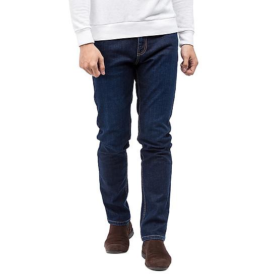 Quần Jeans Nam Cotton Slimfit Vĩnh Tiến JEAN 12 - Xanh Dương Đậm ...