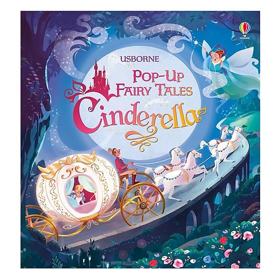 [Download sách] Usborne Pop-Up Fairy Tales Cinderella