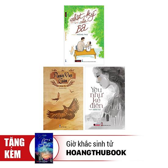 [Download sách] Combo Yêu Như Kẻ Điên + Nhật Ký Của Ba + Người Việt Giàu (Tặng Giờ Khắc Sinh Tử)