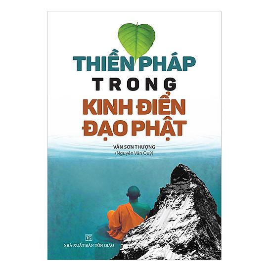 [Download sách] Thiền Pháp Trong Kinh Điển Đạo Phật