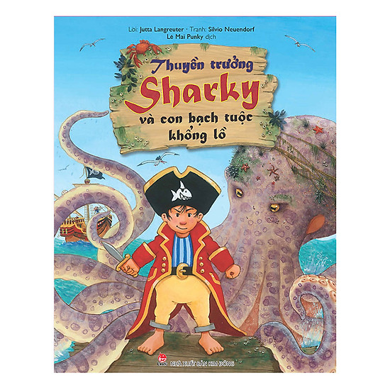Thuyền Trưởng Sharky Và Con Bạch Tuộc Khổng Lồ