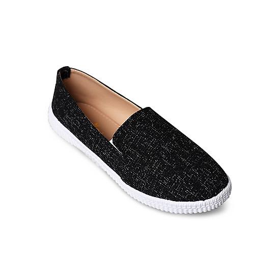 Giày Mọi Nữ Megirl 92330 - Đen