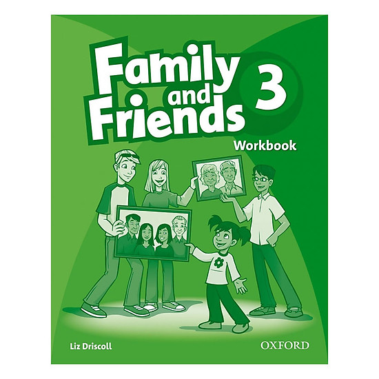 Hình ảnh download sách Family And Friends (Bre) (1 Ed.) 3: Workbook