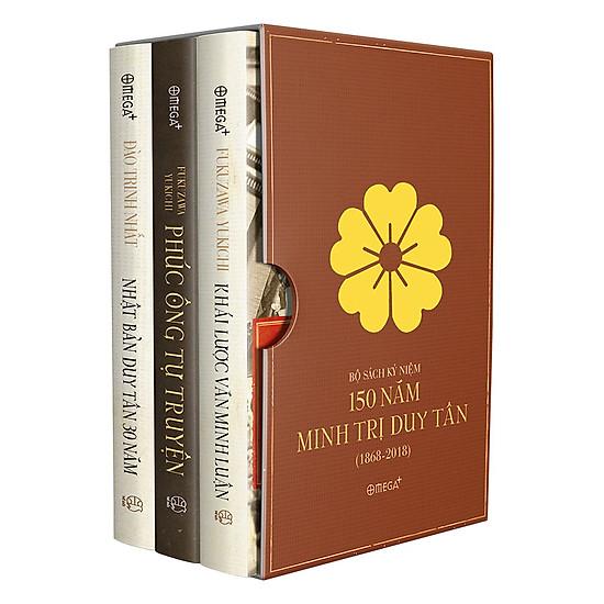 Bộ Sách Kỷ Niệm 150 Năm Minh Trị Duy Tân