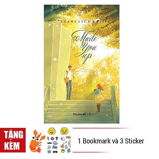 [Download sách] Made You Up - Tặng Kèm 1 Bookmark Và 3 Tấm Sticker
