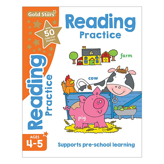 Gold Stars - Reading Practice Ages 4-5
