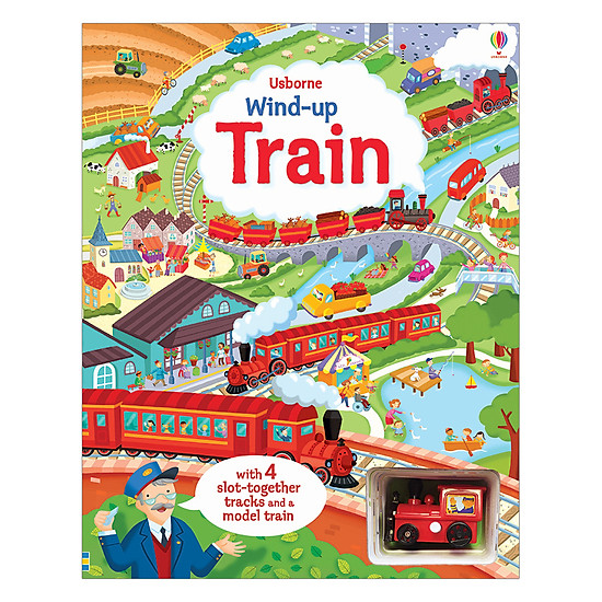 [Download sách] Usborne Wind-Up Train