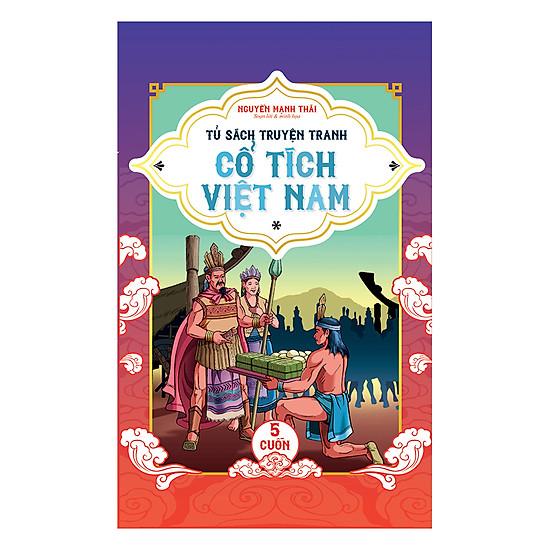 Tủ Sách Truyện Tranh Cổ Tích Việt Nam - Tập 1 (Bộ 5 Cuốn)
