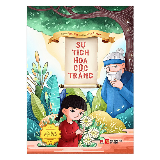 [Download Sách] Cổ Tích Việt Nam - Sự Tích Hoa Cúc Trắng