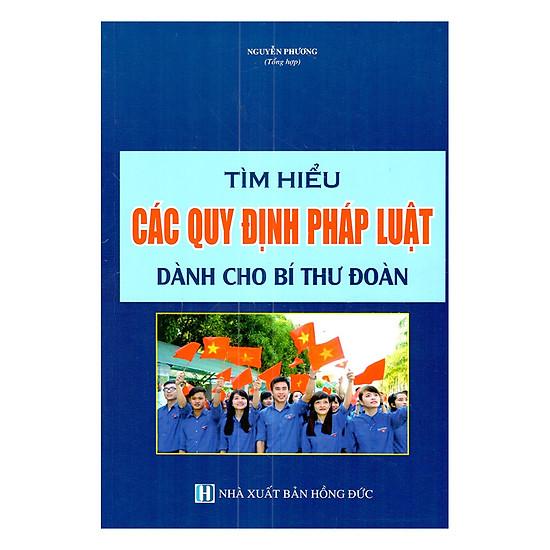 [Download Sách] Tìm Hiểu Các Quy Định Pháp Luật Dành Cho Bí Thư Đoàn