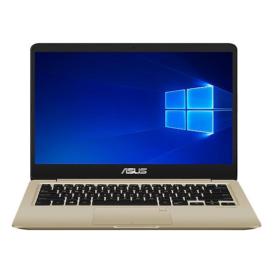 Laptop Asus VivoBook 14 X411UA-BV360T Core i5-8250U/Win10 (14 inch) - Gold - Hàng Chính Hãng