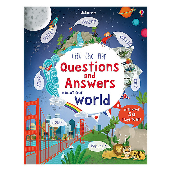 Usborne Lift-The-Flap Questions And Answers About Our World