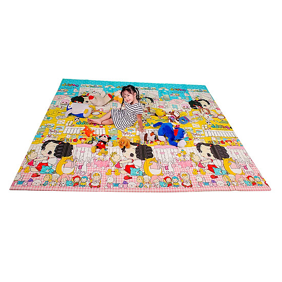 Thảm Chơi Cho Bé Hàn Quốc Lamilon LAMI04 (2m x 2m4)