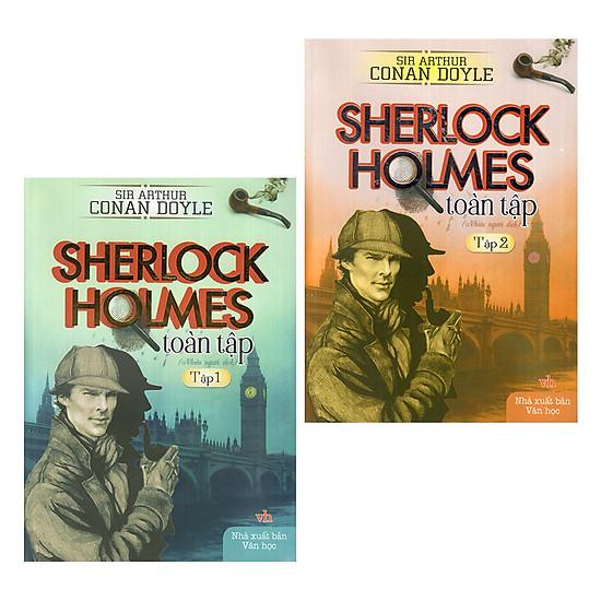 [Download Sách] Combo Sherlock Holmes Toàn Tập (Tập 1 Và 2)