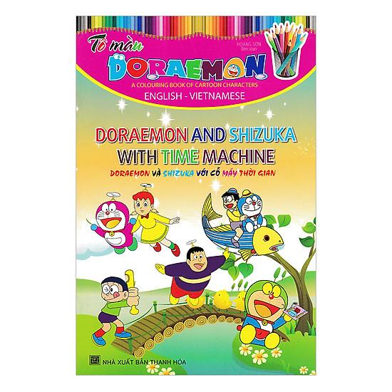 [Download Sách] Tô Màu Doraemon - Doraemon Và Shizuka Với Cỗ Máy Thời Gian
