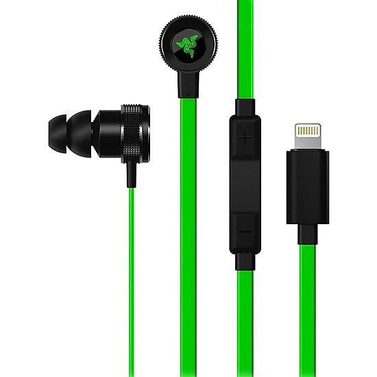 Tai Nghe Có Dây Razer Hammerhead Lightning dành riêng Cho iPhone - Hàng Chính Hãng