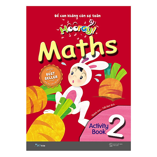Hooray Math – Đừng Lo Để Cho Con Nghĩ (Activity Book 2)