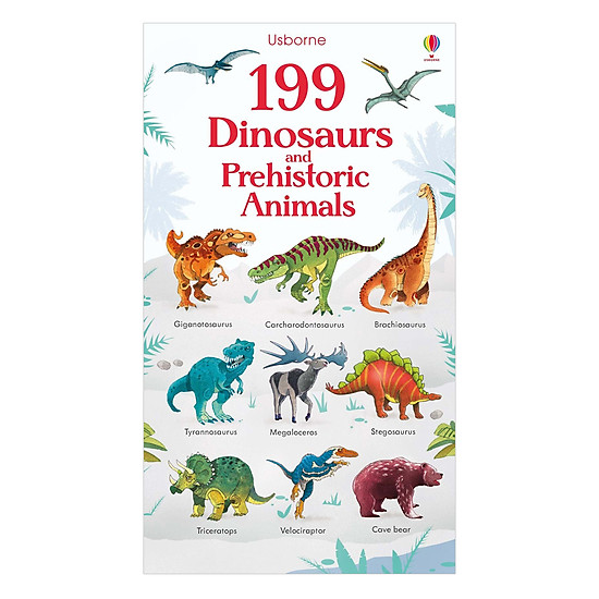 [Download Sách] 199 Dinosaurs And Prehistoric Animals
