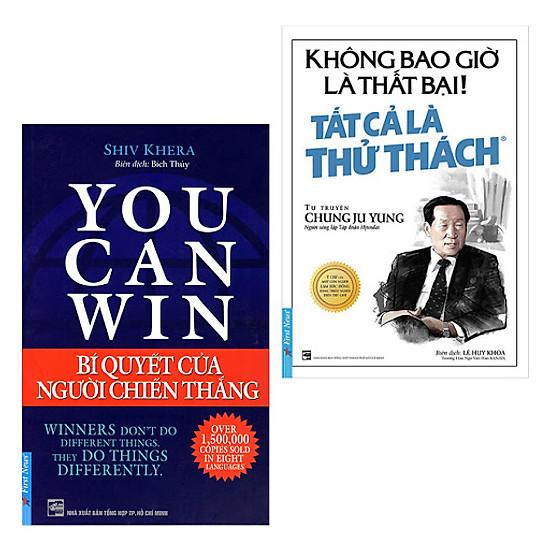 Download sách Combo You Can Win Và Không Bao Giờ Là Thất Bại
