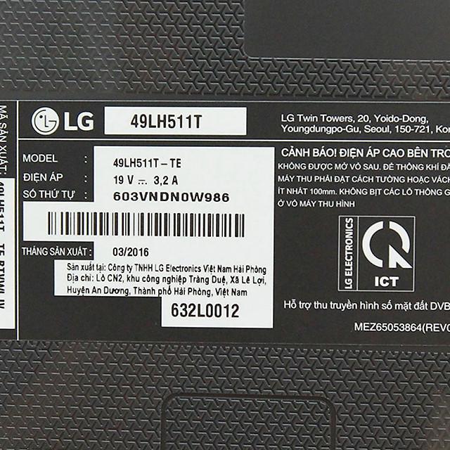 LG 49LH511T