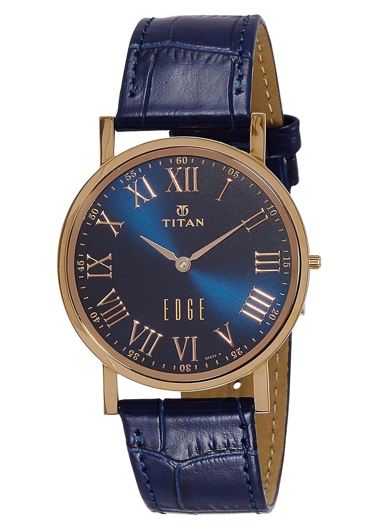 Đồng Hồ Nam Dây Da Titan 1595WL02