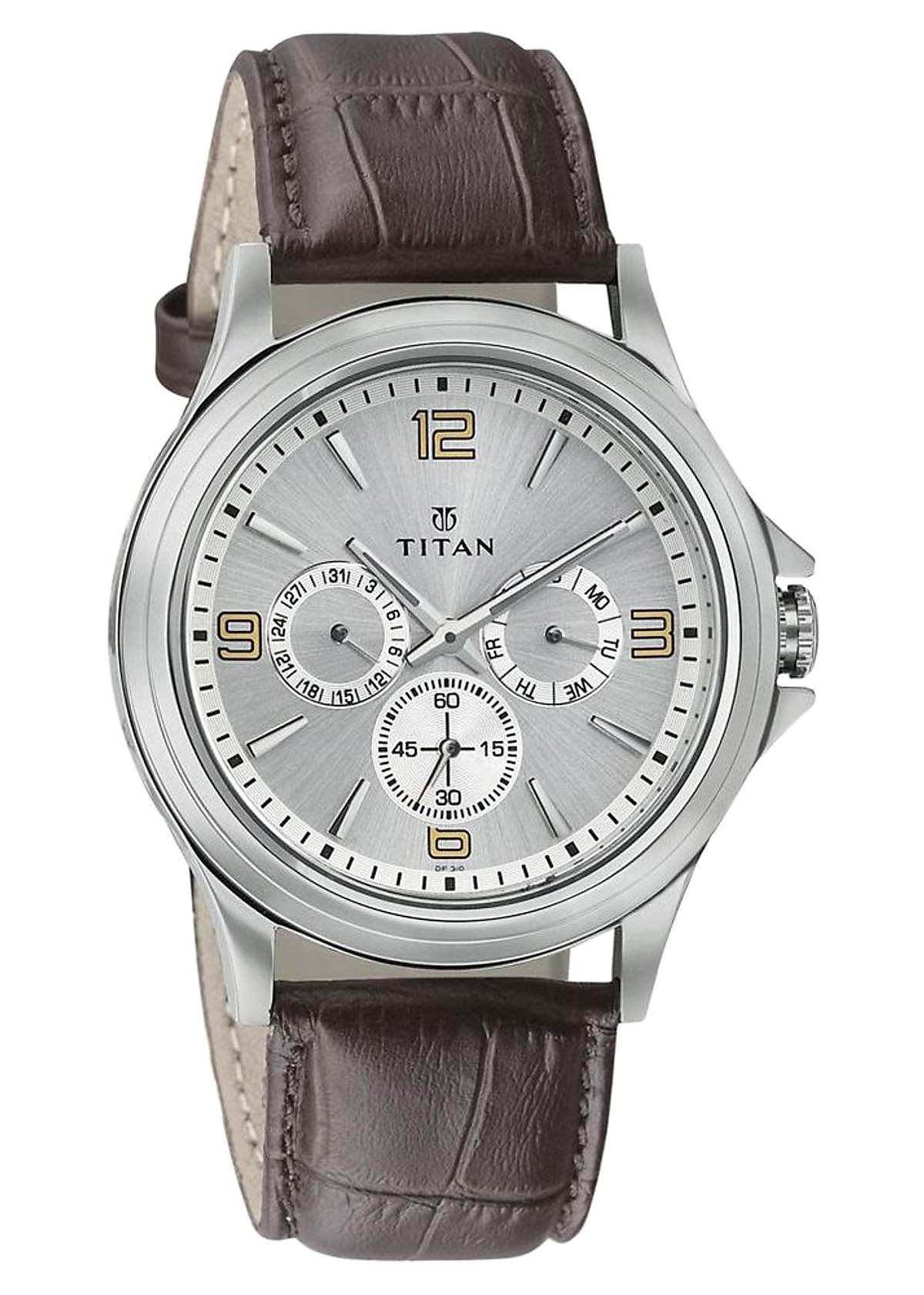Đồng Hồ Nam Dây Da Titan 1698SL01