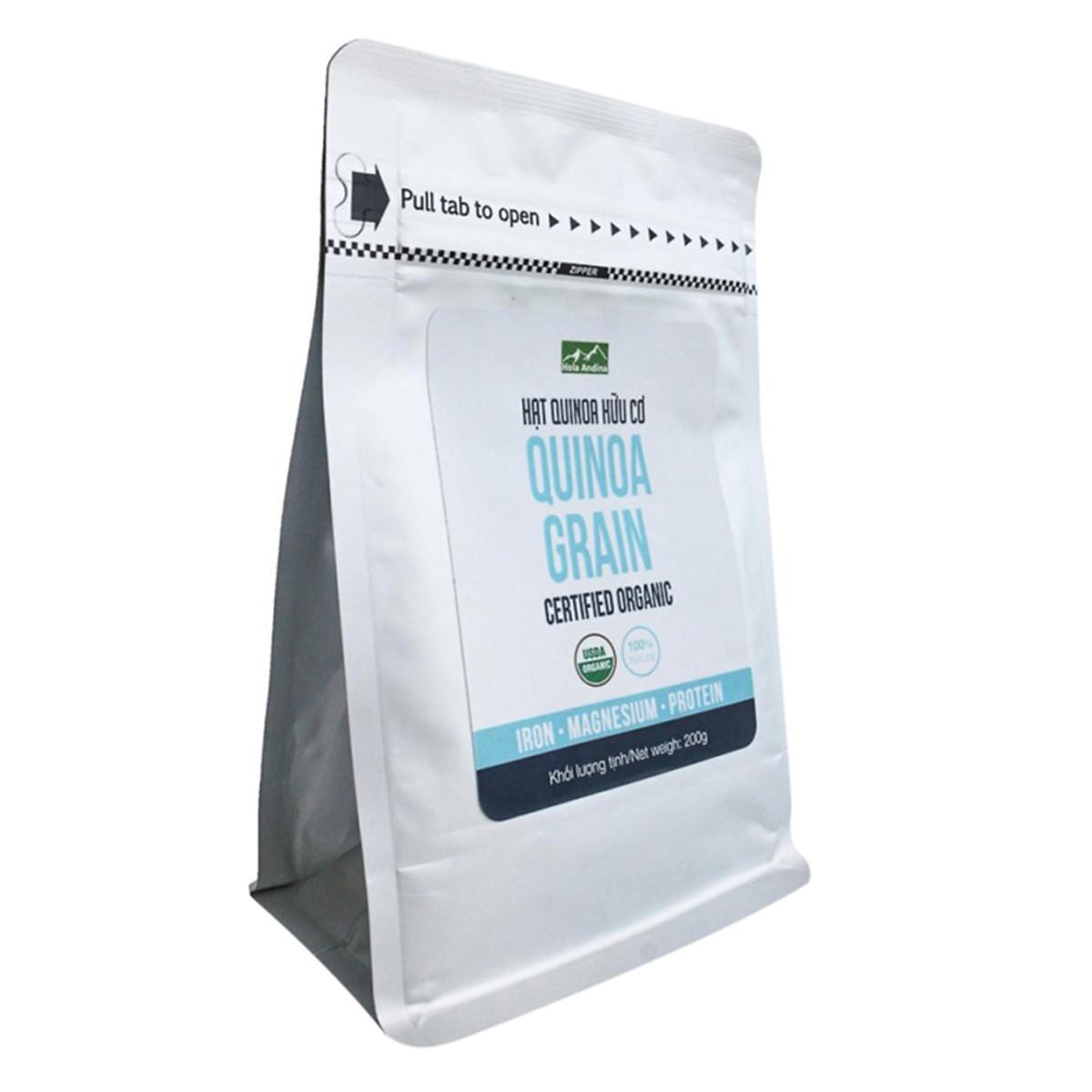 Hạt Quinoa Hữu Cơ Hola Andina (200g)  = 108.000 ₫