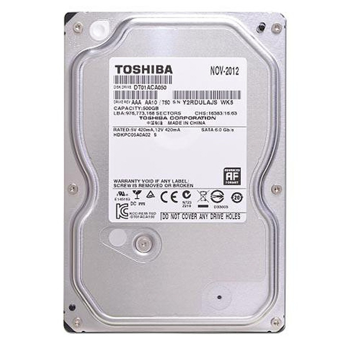 Ổ Cứng Trong PC Toshiba 500GB 3 5 inch SATA3 7200rpm 32MB HDD