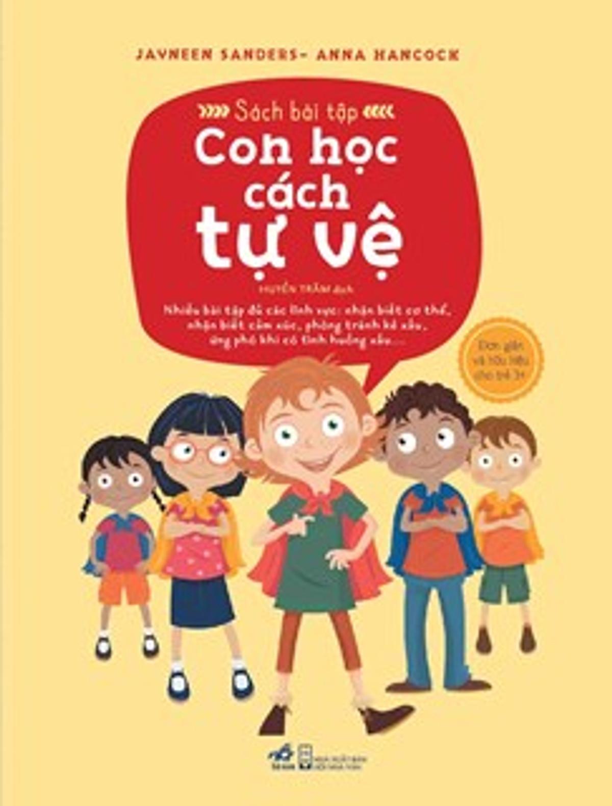 Bộ Sách An Toàn Cho Con Yêu: Con Học Cách Tự Vệ