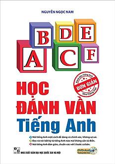 Học Đánh Vần Tiếng Anh (Kèm DVD + Mindmap)