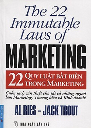 Ảnh bìa sách 22 Quy luật bất biến trong marketing