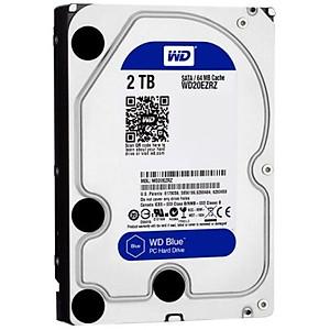 Ổ Cứng HDD WD Blue 2TB 64MB 5400 3 5 WD20EZRZ