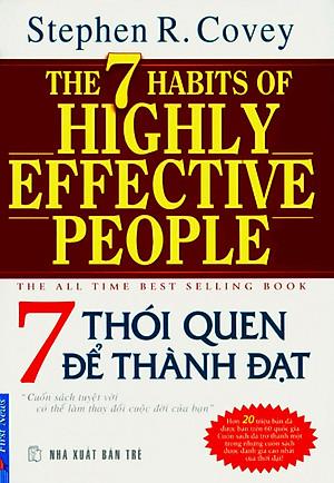 Ảnh bìa sách 7 thói quen để thành đạt