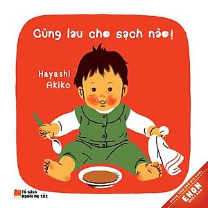 Ehon Nhật Bản - Cùng Lau Cho Sạch Nào